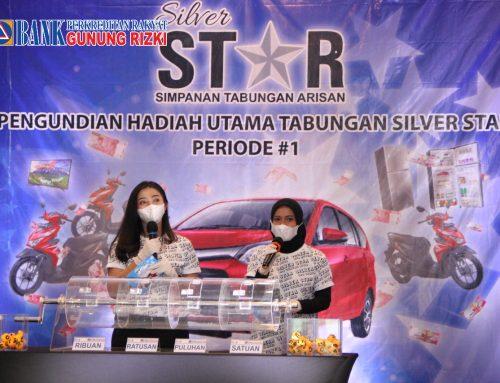 PENGUNDIAN HADIAH UTAMA TABUNGAN SILVER STAR PERIODE 1